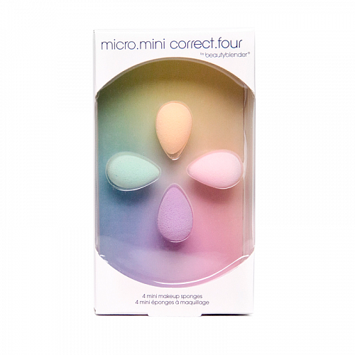 Спонжи beautyblender micro mini correct four